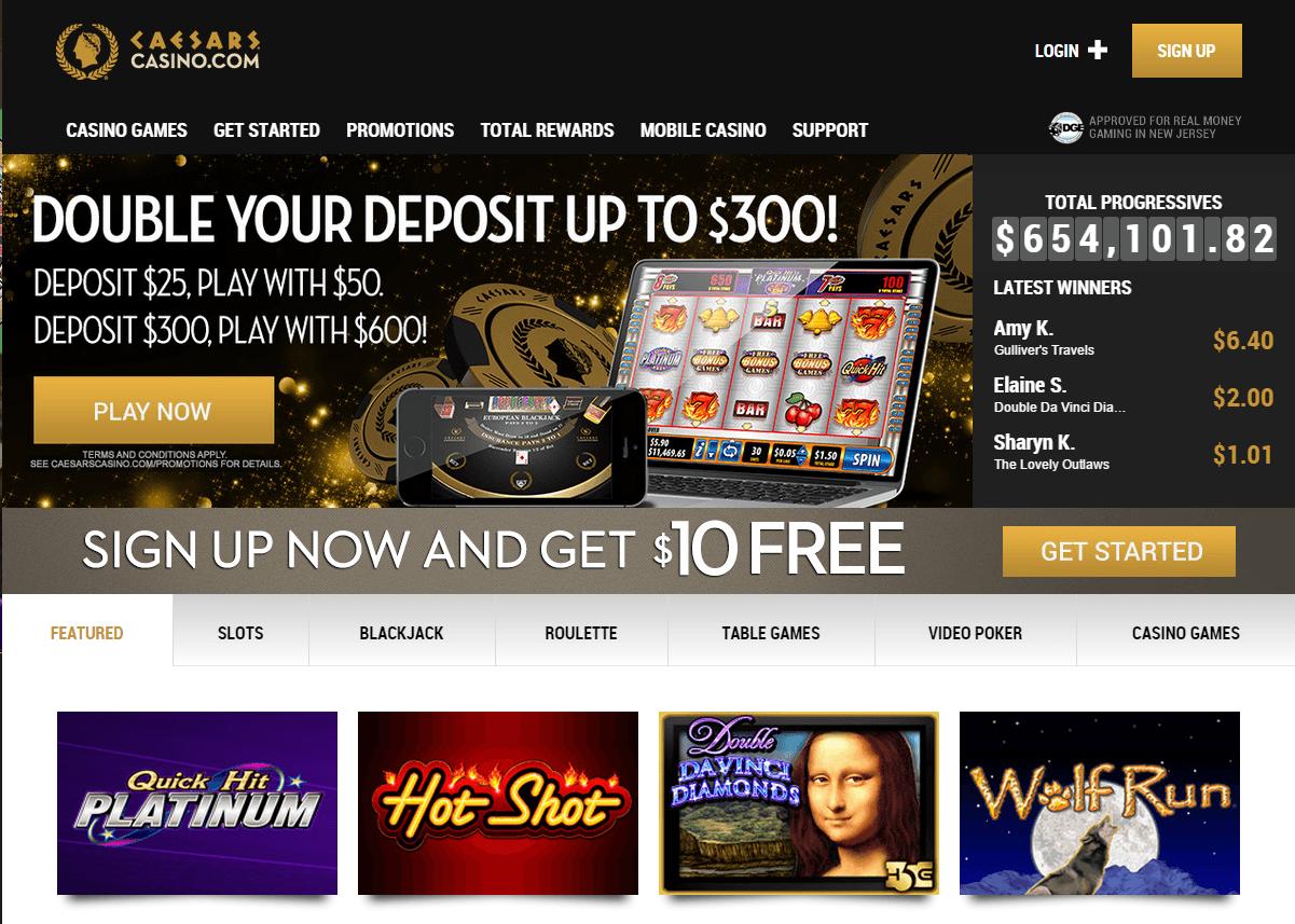 Caesars Online Casino Nj